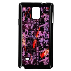 Abstract Painting Digital Graphic Art Samsung Galaxy Note 4 Case (black)