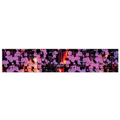Abstract Painting Digital Graphic Art Flano Scarf (small)