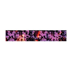 Abstract Painting Digital Graphic Art Flano Scarf (mini)