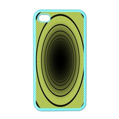 Spiral Tunnel Abstract Background Pattern Apple Iphone 4 Case (color)