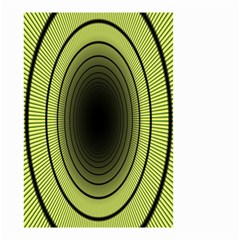 Spiral Tunnel Abstract Background Pattern Small Garden Flag (Two Sides)