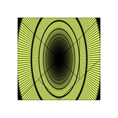 Spiral Tunnel Abstract Background Pattern Acrylic Tangram Puzzle (4  x 4 )