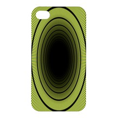 Spiral Tunnel Abstract Background Pattern Apple iPhone 4/4S Premium Hardshell Case