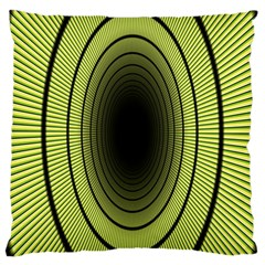 Spiral Tunnel Abstract Background Pattern Large Cushion Case (two Sides)