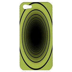 Spiral Tunnel Abstract Background Pattern Apple Iphone 5 Hardshell Case