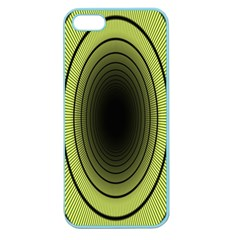 Spiral Tunnel Abstract Background Pattern Apple Seamless Iphone 5 Case (color)