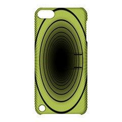 Spiral Tunnel Abstract Background Pattern Apple Ipod Touch 5 Hardshell Case With Stand
