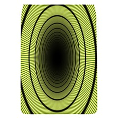 Spiral Tunnel Abstract Background Pattern Flap Covers (S)