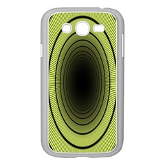 Spiral Tunnel Abstract Background Pattern Samsung Galaxy Grand DUOS I9082 Case (White)