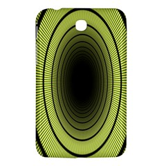Spiral Tunnel Abstract Background Pattern Samsung Galaxy Tab 3 (7 ) P3200 Hardshell Case