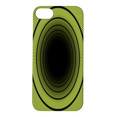 Spiral Tunnel Abstract Background Pattern Apple iPhone 5S/ SE Hardshell Case
