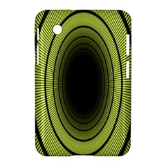 Spiral Tunnel Abstract Background Pattern Samsung Galaxy Tab 2 (7 ) P3100 Hardshell Case