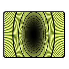 Spiral Tunnel Abstract Background Pattern Double Sided Fleece Blanket (small)