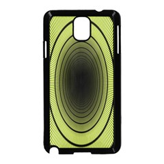 Spiral Tunnel Abstract Background Pattern Samsung Galaxy Note 3 Neo Hardshell Case (black)