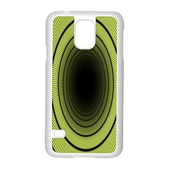 Spiral Tunnel Abstract Background Pattern Samsung Galaxy S5 Case (White)