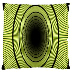 Spiral Tunnel Abstract Background Pattern Standard Flano Cushion Case (One Side)