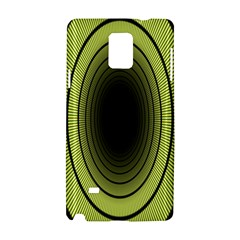 Spiral Tunnel Abstract Background Pattern Samsung Galaxy Note 4 Hardshell Case