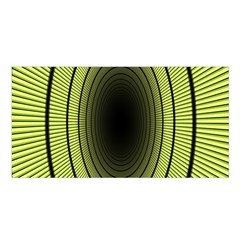 Spiral Tunnel Abstract Background Pattern Satin Shawl
