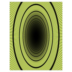 Spiral Tunnel Abstract Background Pattern Drawstring Bag (large)