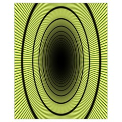 Spiral Tunnel Abstract Background Pattern Drawstring Bag (small)