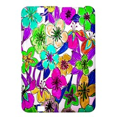 Floral Colorful Background Of Hand Drawn Flowers Kindle Fire HD 8.9