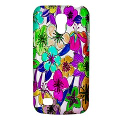 Floral Colorful Background Of Hand Drawn Flowers Galaxy S4 Mini