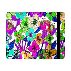 Floral Colorful Background Of Hand Drawn Flowers Samsung Galaxy Tab Pro 8.4  Flip Case
