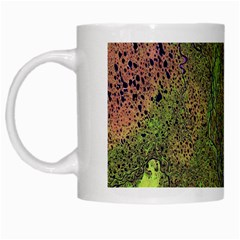 Lena River Delta A Photo Of A Colorful River Delta Taken From A Satellite White Mugs