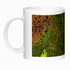 Lena River Delta A Photo Of A Colorful River Delta Taken From A Satellite Night Luminous Mugs