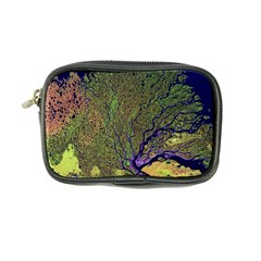 Lena River Delta A Photo Of A Colorful River Delta Taken From A Satellite Coin Purse