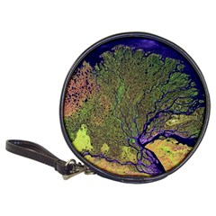 Lena River Delta A Photo Of A Colorful River Delta Taken From A Satellite Classic 20-CD Wallets