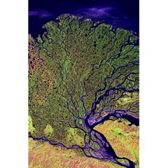 Lena River Delta A Photo Of A Colorful River Delta Taken From A Satellite 5 5  X 8 5  Notebooks