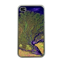 Lena River Delta A Photo Of A Colorful River Delta Taken From A Satellite Apple iPhone 4 Case (Clear)