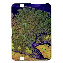 Lena River Delta A Photo Of A Colorful River Delta Taken From A Satellite Kindle Fire HD 8.9
