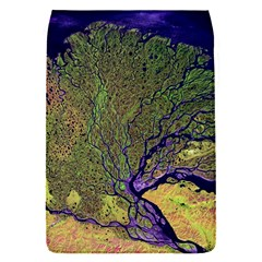 Lena River Delta A Photo Of A Colorful River Delta Taken From A Satellite Flap Covers (s)
