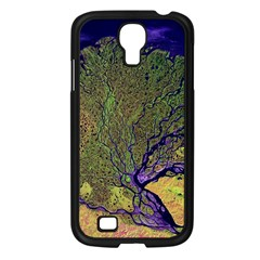Lena River Delta A Photo Of A Colorful River Delta Taken From A Satellite Samsung Galaxy S4 I9500/ I9505 Case (Black)
