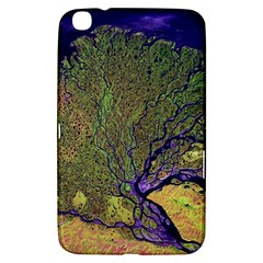 Lena River Delta A Photo Of A Colorful River Delta Taken From A Satellite Samsung Galaxy Tab 3 (8 ) T3100 Hardshell Case