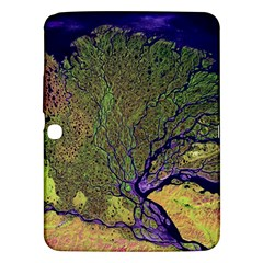 Lena River Delta A Photo Of A Colorful River Delta Taken From A Satellite Samsung Galaxy Tab 3 (10.1 ) P5200 Hardshell Case