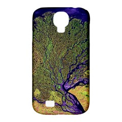 Lena River Delta A Photo Of A Colorful River Delta Taken From A Satellite Samsung Galaxy S4 Classic Hardshell Case (PC+Silicone)