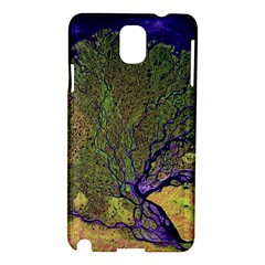 Lena River Delta A Photo Of A Colorful River Delta Taken From A Satellite Samsung Galaxy Note 3 N9005 Hardshell Case