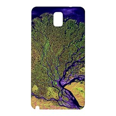 Lena River Delta A Photo Of A Colorful River Delta Taken From A Satellite Samsung Galaxy Note 3 N9005 Hardshell Back Case