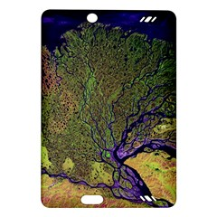 Lena River Delta A Photo Of A Colorful River Delta Taken From A Satellite Amazon Kindle Fire HD (2013) Hardshell Case