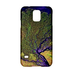 Lena River Delta A Photo Of A Colorful River Delta Taken From A Satellite Samsung Galaxy S5 Hardshell Case