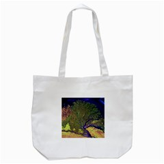 Lena River Delta A Photo Of A Colorful River Delta Taken From A Satellite Tote Bag (white)