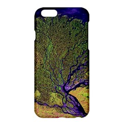 Lena River Delta A Photo Of A Colorful River Delta Taken From A Satellite Apple Iphone 6 Plus/6s Plus Hardshell Case