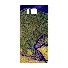 Lena River Delta A Photo Of A Colorful River Delta Taken From A Satellite Samsung Galaxy Alpha Hardshell Back Case