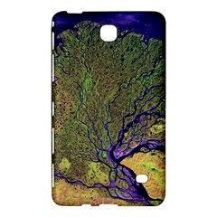 Lena River Delta A Photo Of A Colorful River Delta Taken From A Satellite Samsung Galaxy Tab 4 (8 ) Hardshell Case