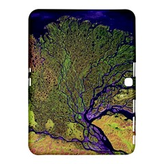 Lena River Delta A Photo Of A Colorful River Delta Taken From A Satellite Samsung Galaxy Tab 4 (10.1 ) Hardshell Case