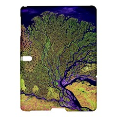 Lena River Delta A Photo Of A Colorful River Delta Taken From A Satellite Samsung Galaxy Tab S (10 5 ) Hardshell Case