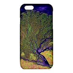 Lena River Delta A Photo Of A Colorful River Delta Taken From A Satellite iPhone 6/6S TPU Case